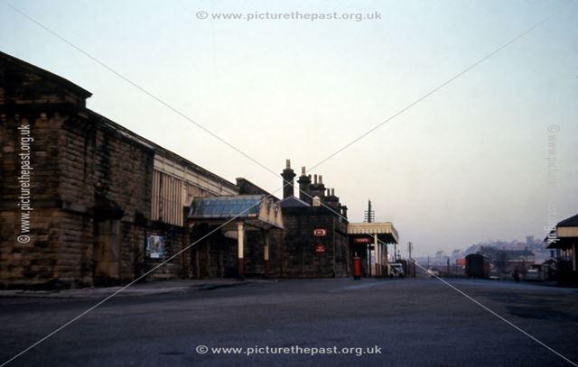 Buxton Railway Station, Station Road, Buxton, 1960s