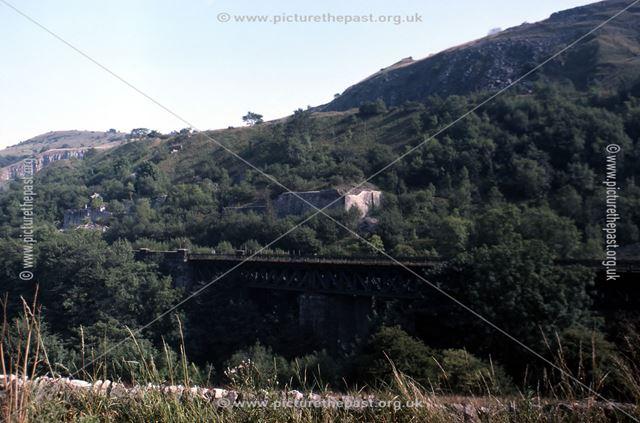1904 Midland Railway Viaduct, Millers Dale, 1983