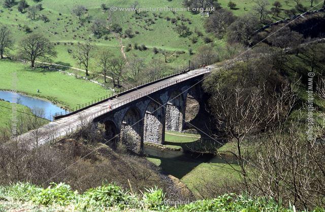 Monsal Viaduct, Monsal Dale, 1976