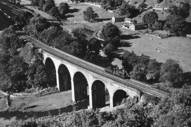 Monsal Dale Viaduct, 1950s