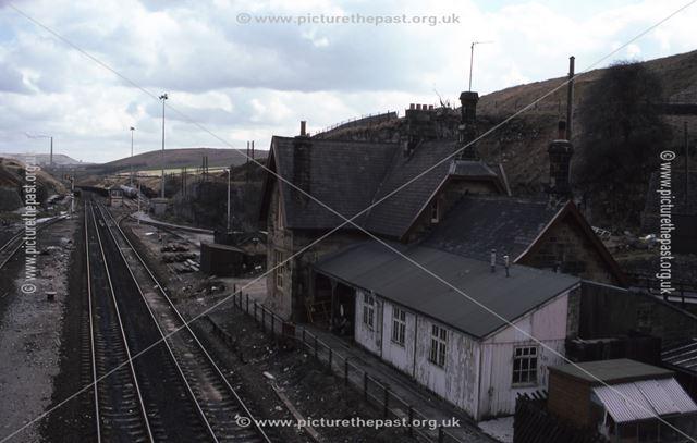 Peak Dale Station, Batham Gate Road, Peak Forest, 1986