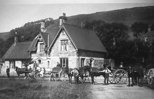 Chinley Railway Station, Cracken Close, Chinley, 1890s