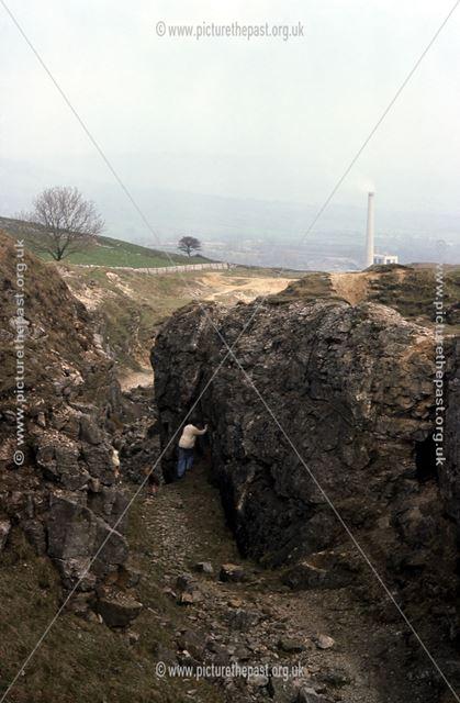 Dirtlow Rake Lead Mine, Castleton, 1976