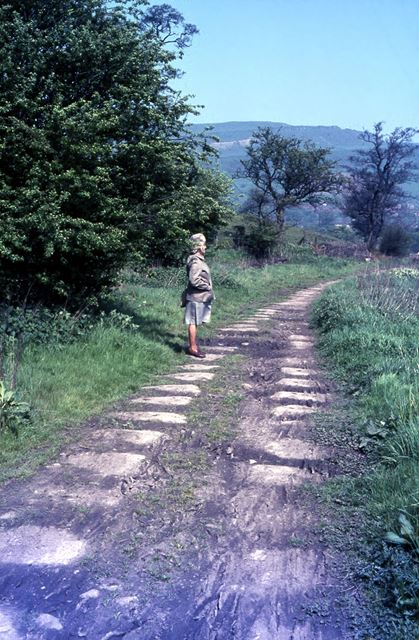 Peak Forest Tramway, Bugsworth, 1968