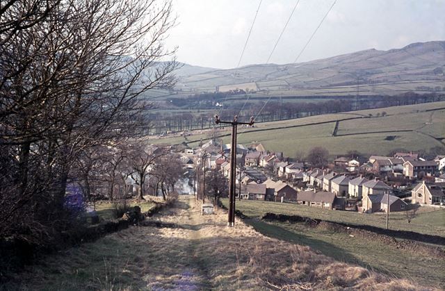 Top of Inclined Plane, Chapel-en-le-Frith, 1976