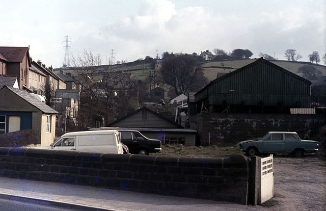 Inclined Plane, Peak Forest Tramway. Chapel-en-le-Frith, 1976