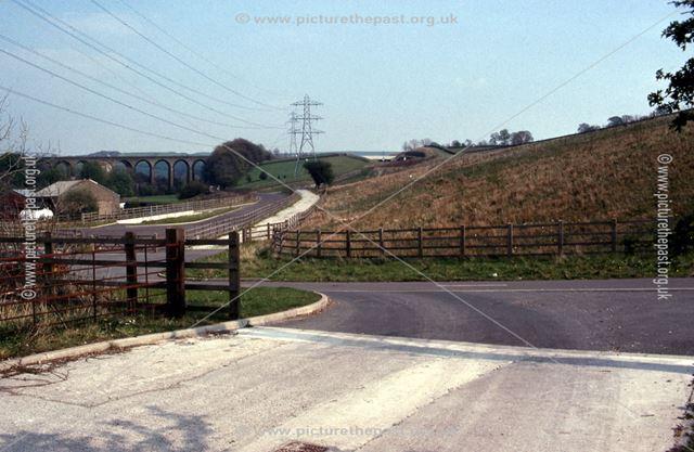 Re-aligned Peak Forest Tramway, Chapel Milton, 1990