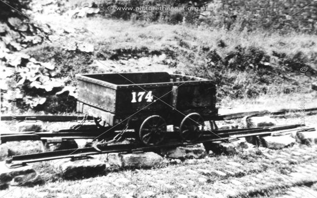 Peak Forest Tramway Wagon, Peak Forest, c 1925
