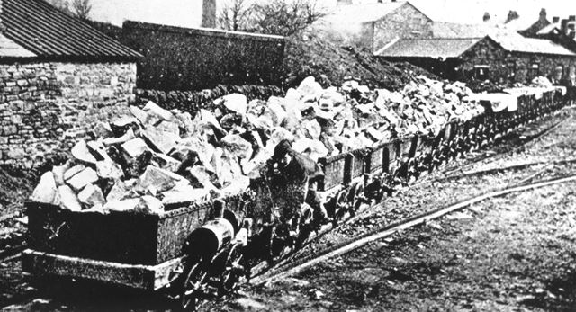 Peak Forest Tramway Wagons, Peak Forest, pre 1921
