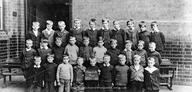 Chaucer Street Infant School, Lower Chapel Street, Ilkeston, 1914