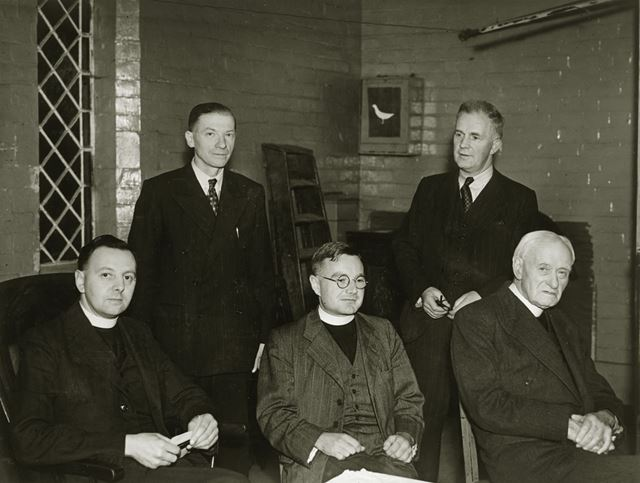 St. Mark's Church Welcomes Rev. H. E. Brown, Openwoodgate, 1951