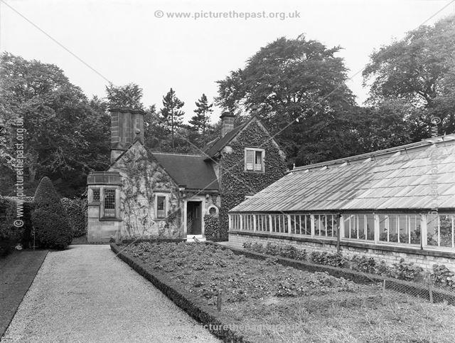 Gardener's Cottage, Thornbridge Hall, Great Longstone, c 1950s?