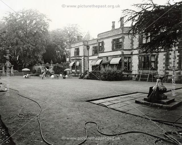 BBC Filming at Thornbridge Hall, Great Longstone, 1987