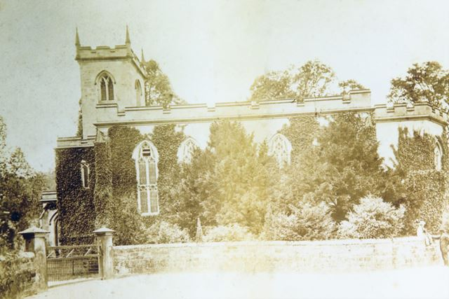 St Mary's Church, Off Mill Road, Cromford, 1890s