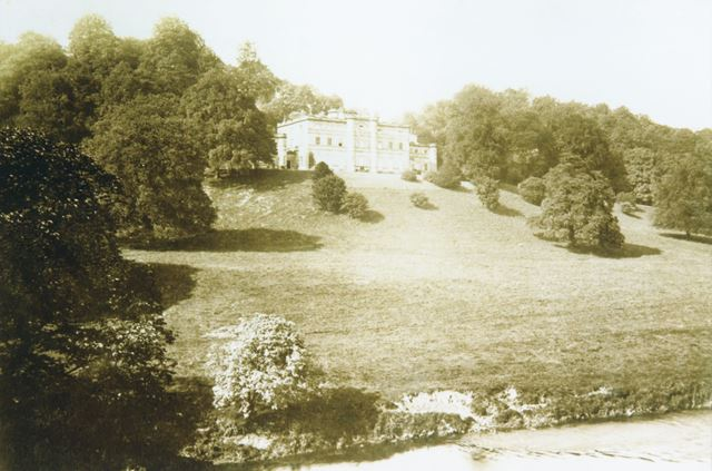 Willersley Castle, Off Mill Road, Cromford, 1890s