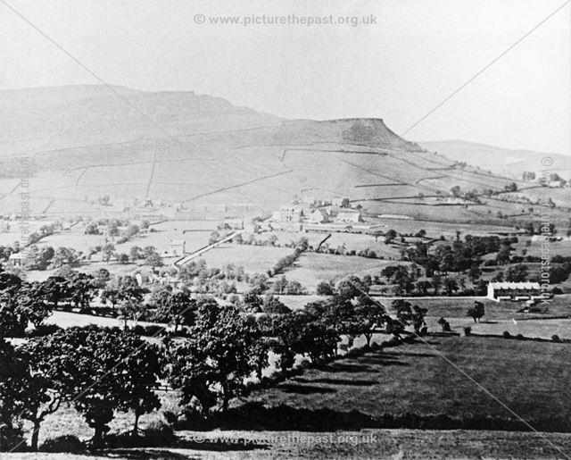 Looking Towards Cracken Edge, Chinley, 1904