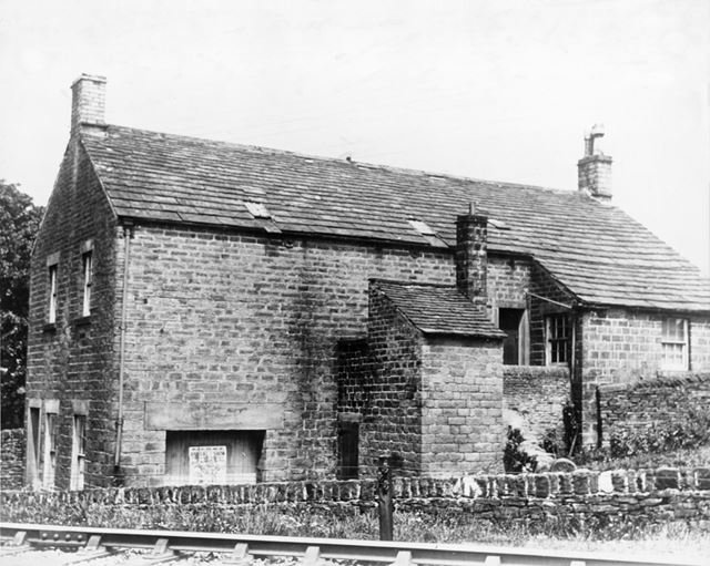 Mr Harrison's Sunday School, New Smithy, Chinley, c 1930s ?