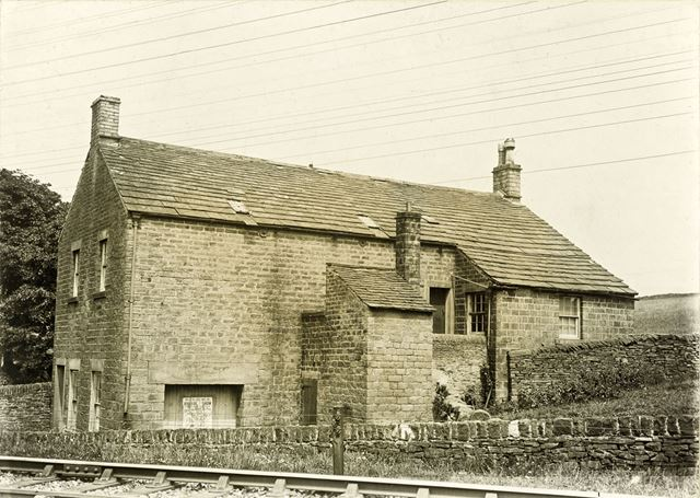 Mr Harrison's Sunday School, New Smithy, Chinley, c 1930s ?