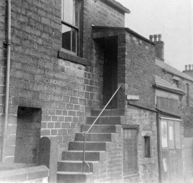 The First Preaching Room, Green Lane, Chinley, c 1900
