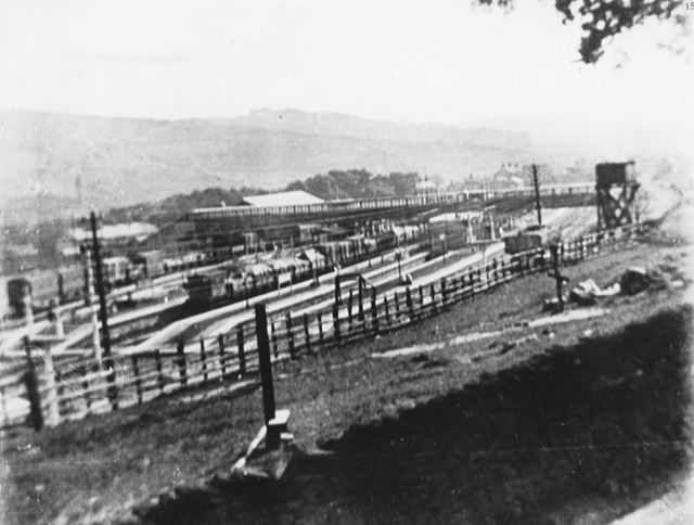 Second Chinley Railway Station, Cracken Close, Chinley, c 1900s