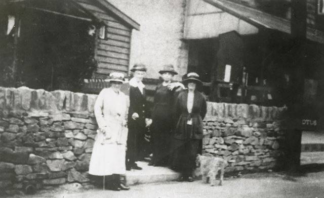 Members of the Women's Institute, Lower Lane?, Chinley, 1920s