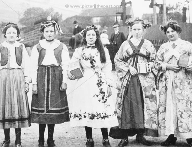 Gala Fancy Dress, Chinley, c 1920s