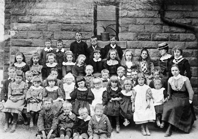 Summer School, Chinley, 1902