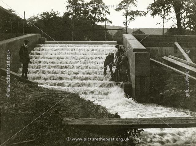 Alderbrook Dam, Chinley, 1939