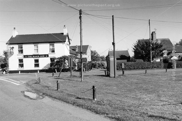 Black Cow Public House, Village Green, Lees, 2003