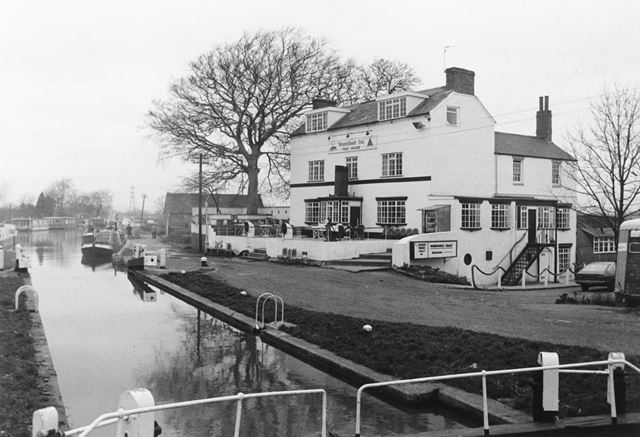 The Steamboat Inn, Trent Lock, Long Eaton, 1978