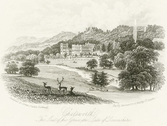 Chatsworth House, Chatsworth Estate, c 1800s-1860s