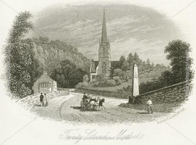 Trinity Church, Derby Road, Matlock, c 1830s-70s