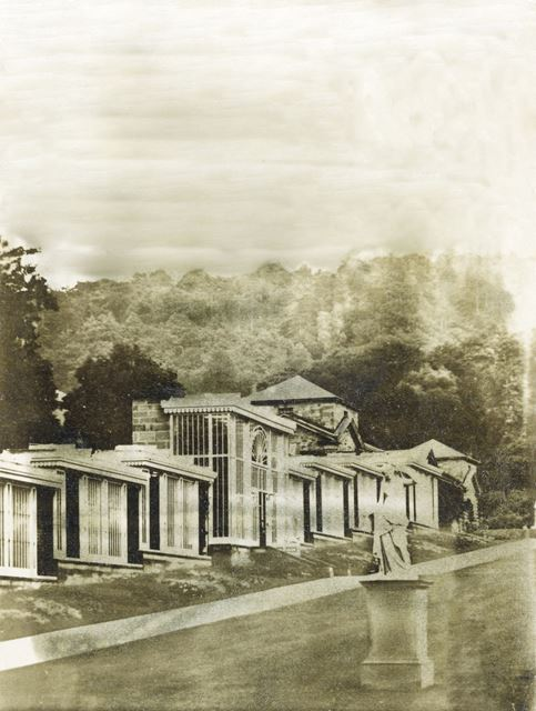 Conservatory, Chatsworth Gardens, Chatsworth, 1868