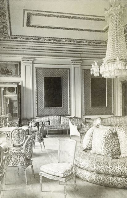The Drawing Room, Chatsworth House, Chatsworth, c 1868