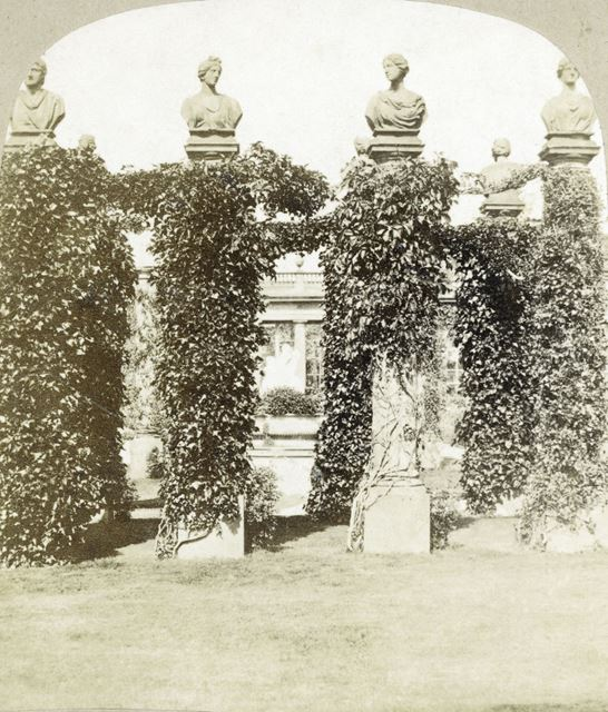 French Flower Garden, Chatsworth Gardens, Chatsworth, c 1868