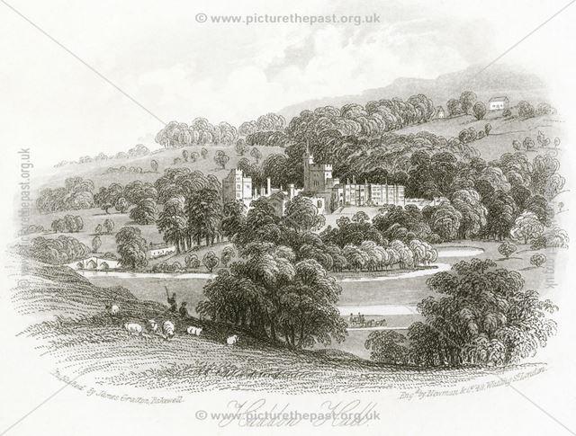 Haddon Hall, Haddon Road, Bakewell, c 1830s ?