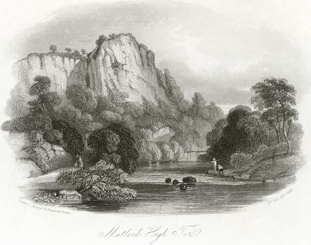 High Tor, Matlock Bath, 1848