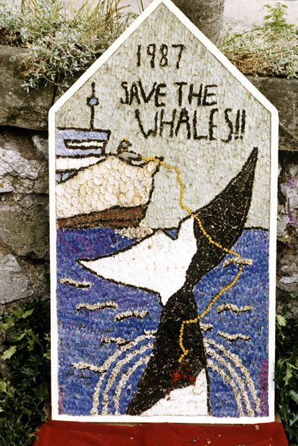 Well Dressing, Bonsall, 1987