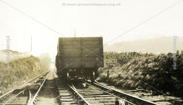 High Peak Railway at Middleton Incline, Middleton-By-Wirksworth, 1936