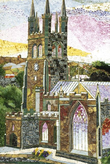 Well Dressing, Wormhill, 1987