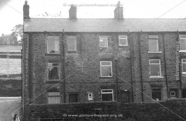 1-3 Springfield Terrace, Hayfield, c 1977