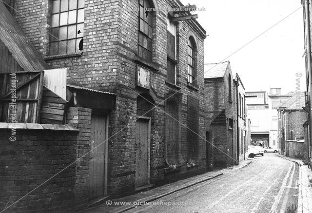Clifford Street Works, Long Eaton, c 1978