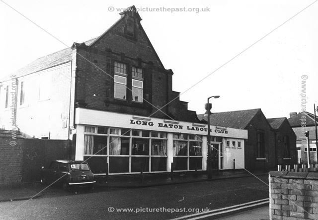 Labour Club, Lawrence Street, Long Eaton, c 1978