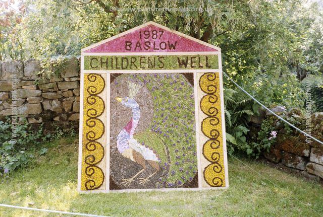 Well Dressing, Baslow, 1987