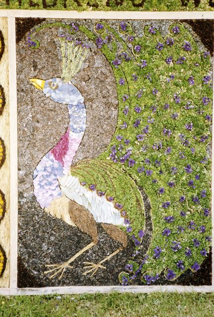 Well Dressing, Baslow, 1987