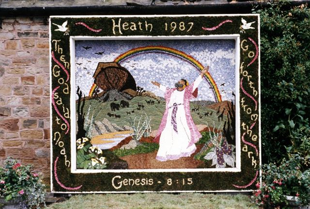 Well Dressing, Heath, 1987
