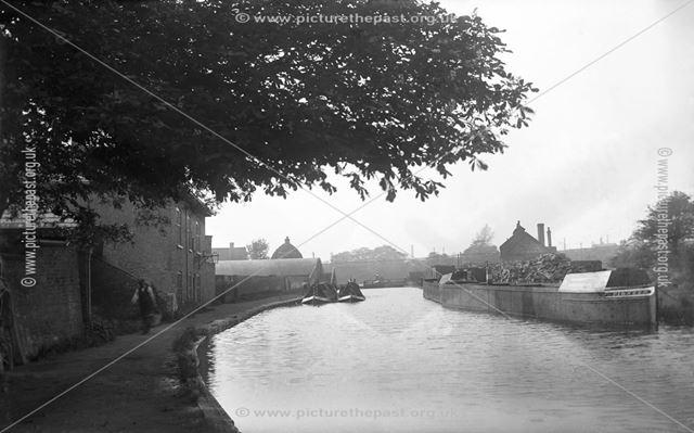 Moira Baths Wharf, Moira, Leicestershire, c 1913