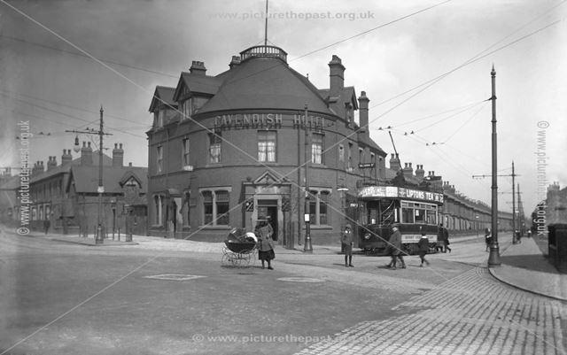 Cavendish Hotel, Normanton, Derby, c 1911