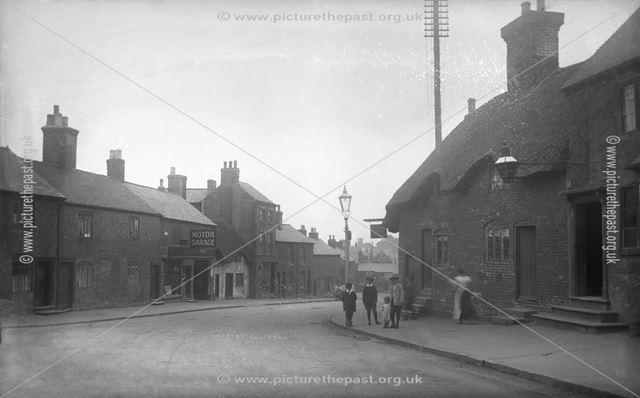 Wood Street, Ashby de la Zouch, Leicestershire, c 1915
