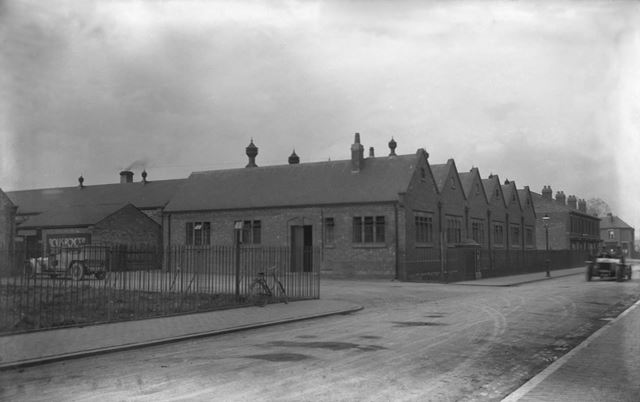 Rolls-Royce Ltd factory, Nightingale Road, Osmaston, Derby, c 1911